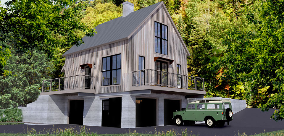 Modern Mountain Cabin