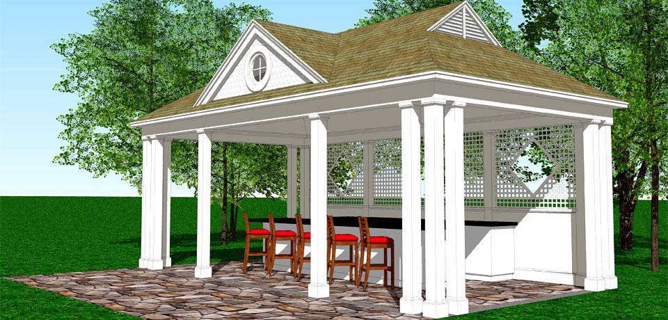 17 harmonious pool pavilion plans building plans online 33076