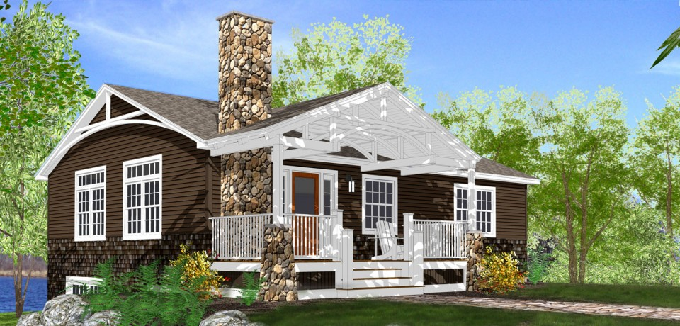Turtle Lake Cottage from The Southern Living (HWBDO55507